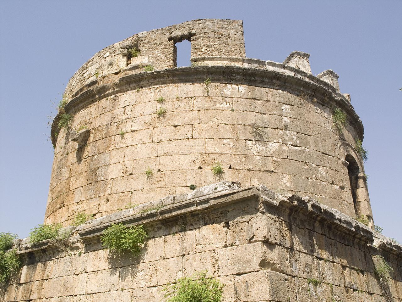 Башня Хыдырлык, верхний этаж