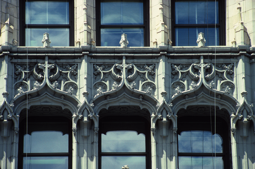 Вулворт-билдинг, деталь фасада
