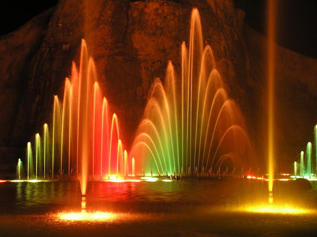 Магия танцующих фонтанов, Протарас