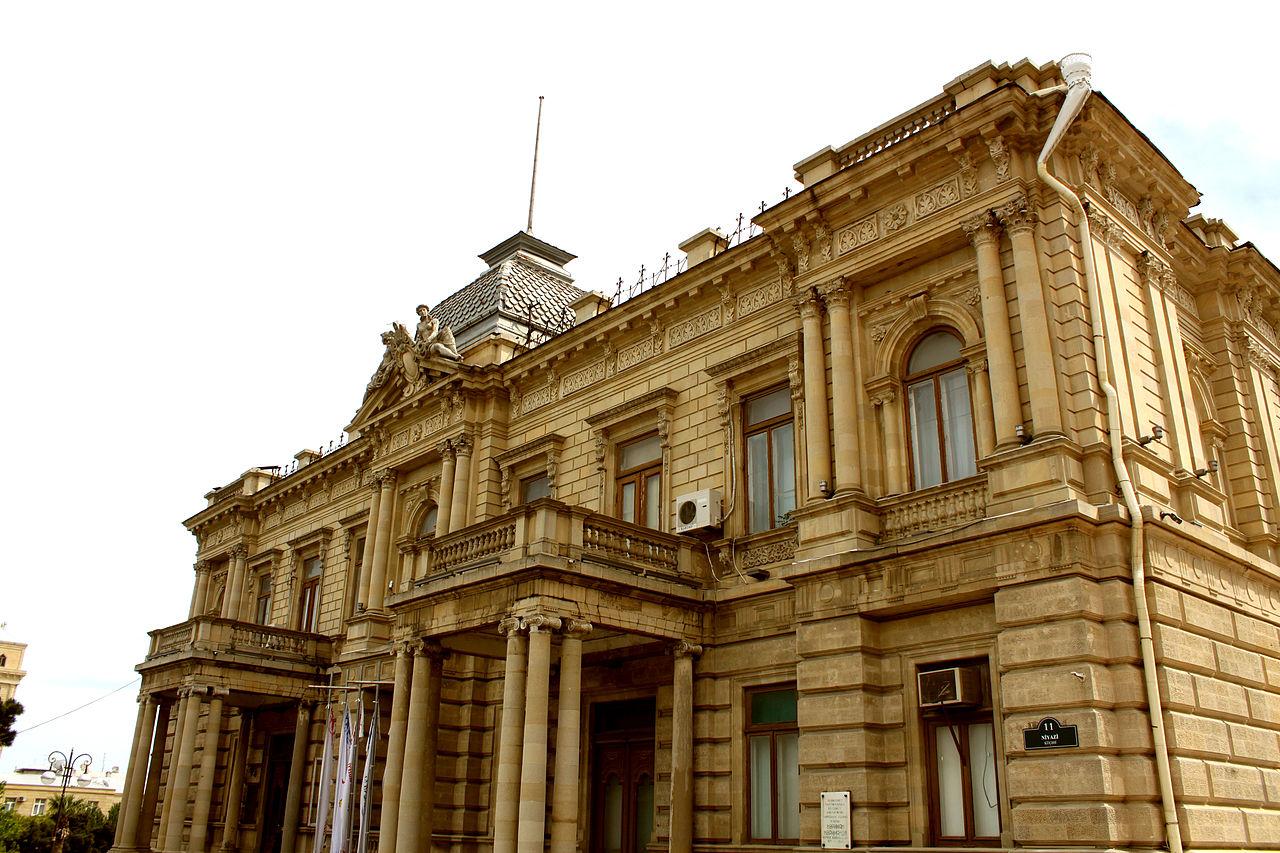 Музей искусств Азербайджана, первый корпус