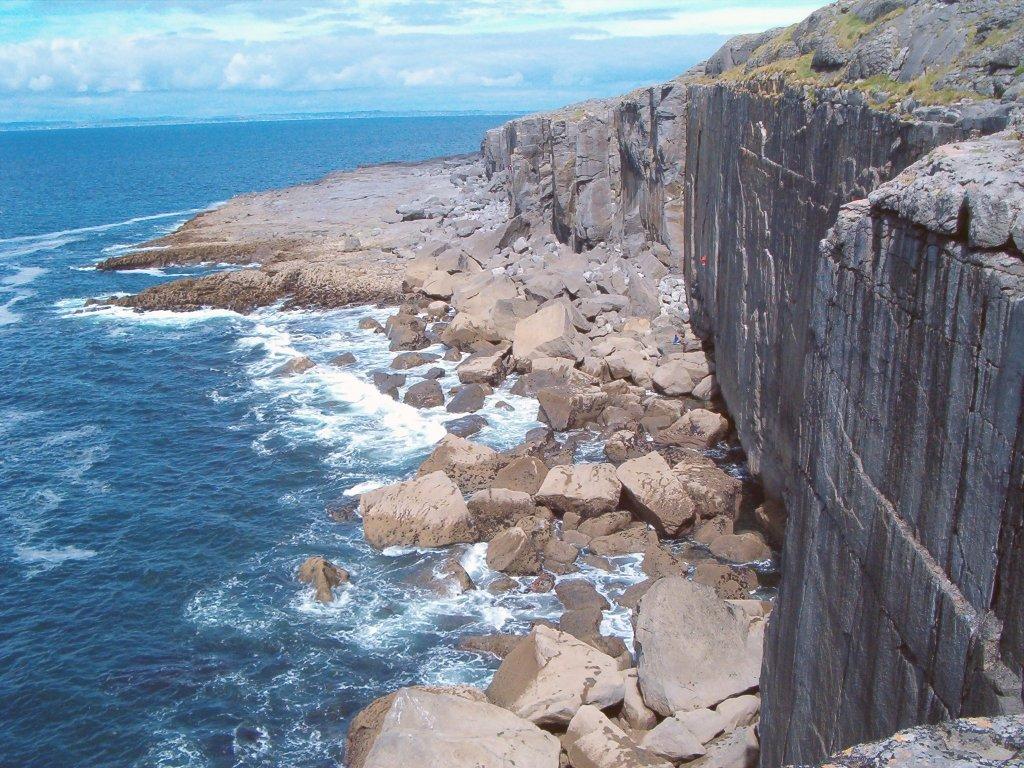 Национальный парк Буррен в Ирландии