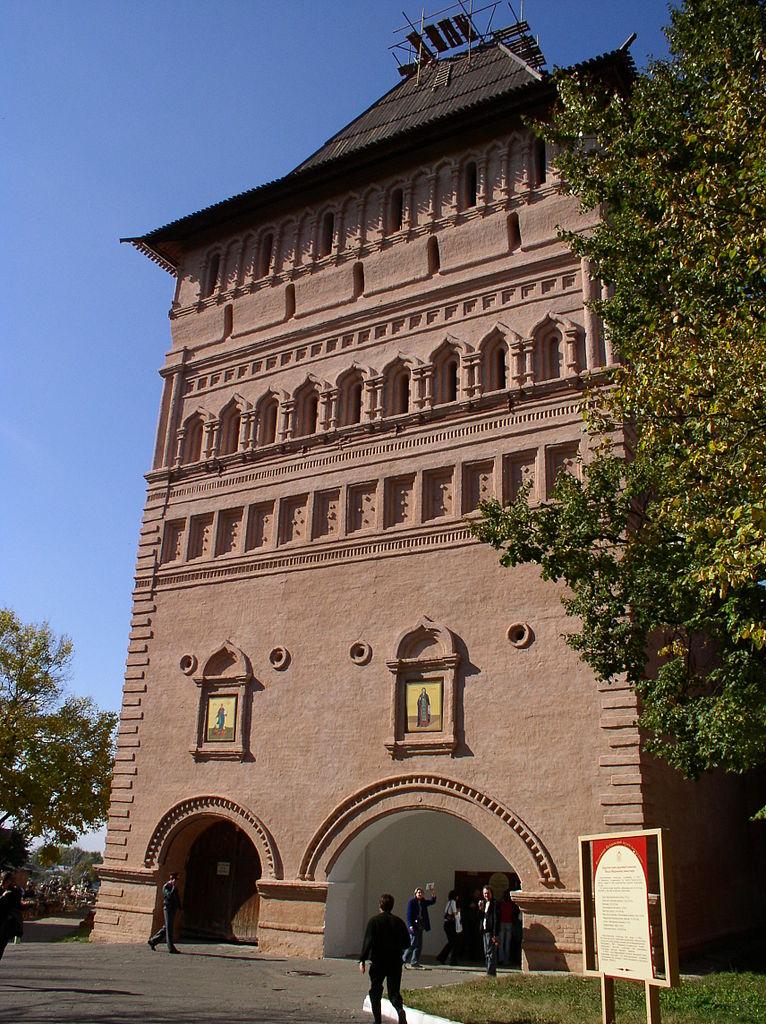 Спасо-Евфимиевский монастырь, главная проездная башня