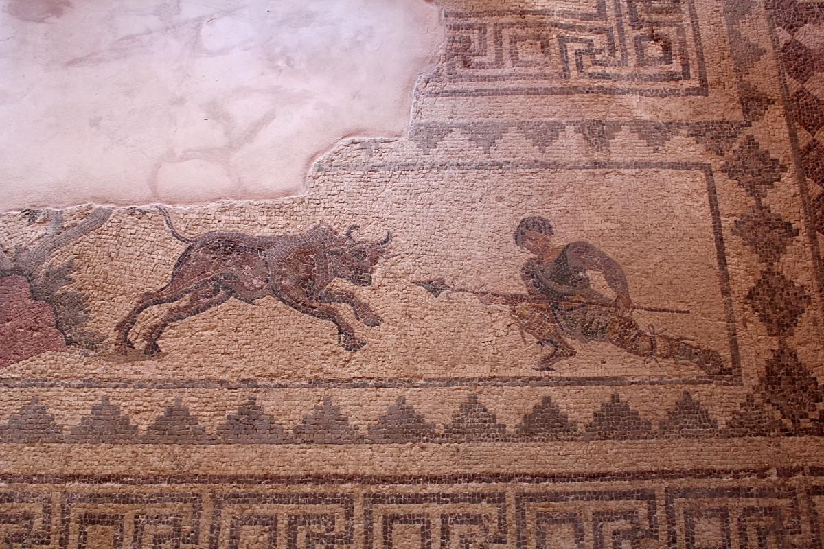 Фрески археологического парка в Пафосе
