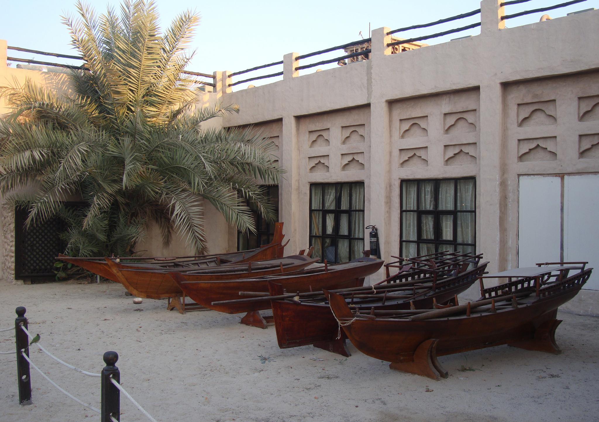 Бастакия, музей форта Аль-Фахиди