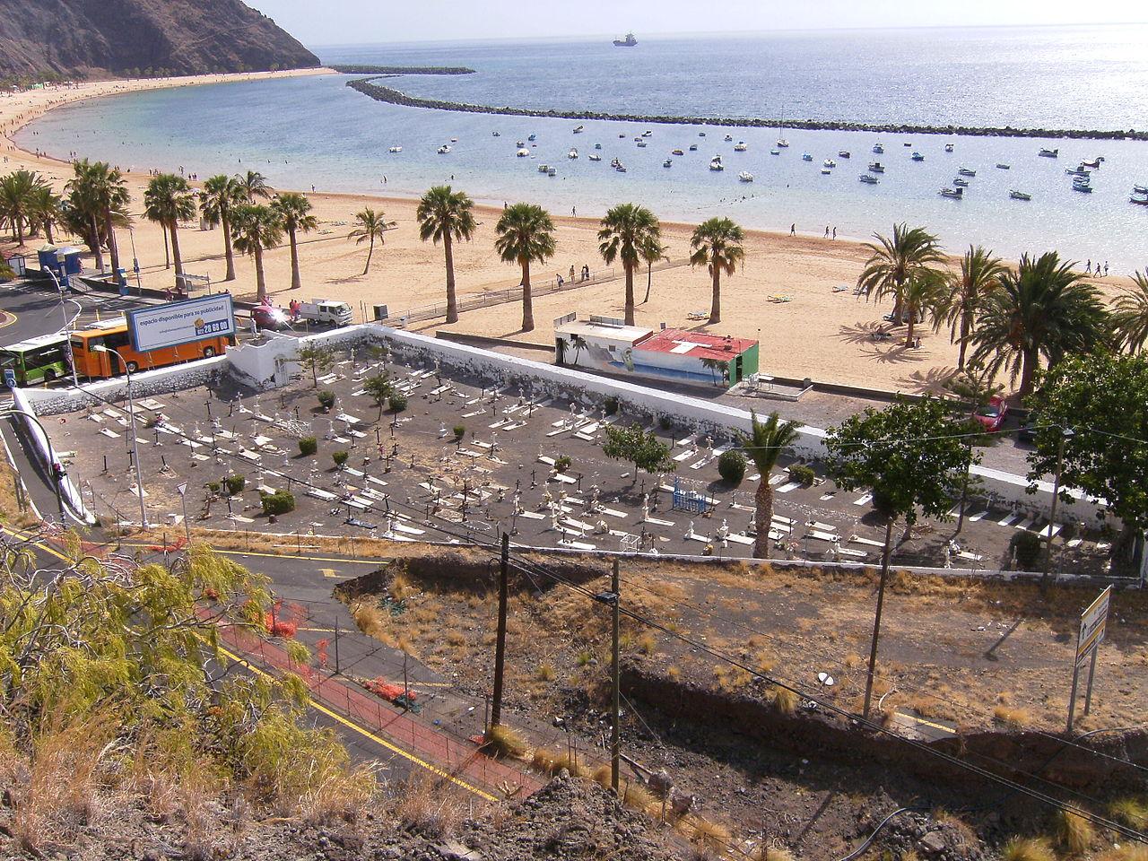 Вид на пляж Лас-Тереситас