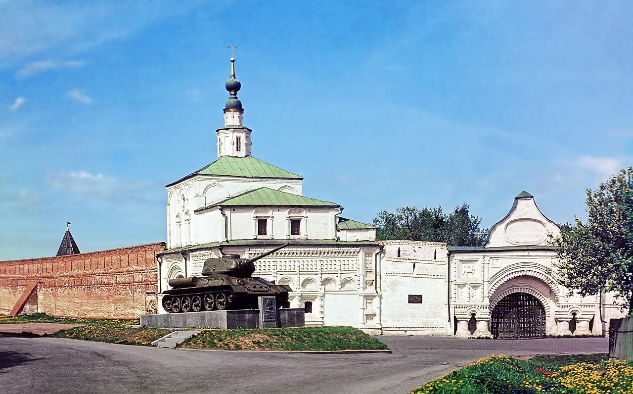 Горицкий монастырь, проездные ворота