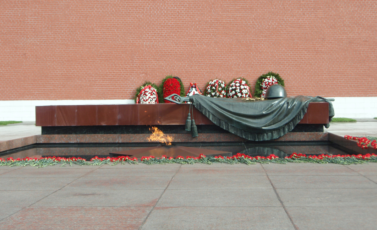 Могила неизвестного солдата, Александровский сад, Москва