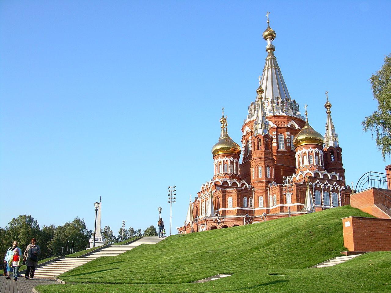 картинки свято михайловского собора ижевск удобная