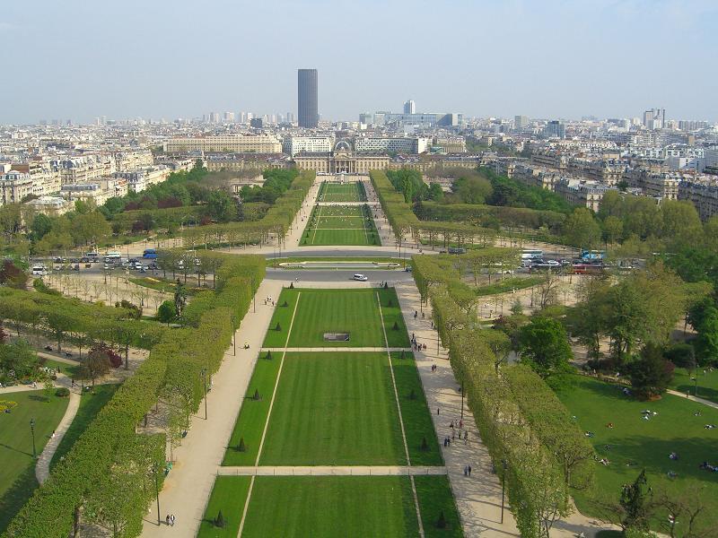Вид с Эйфеллевой башни, Париж
