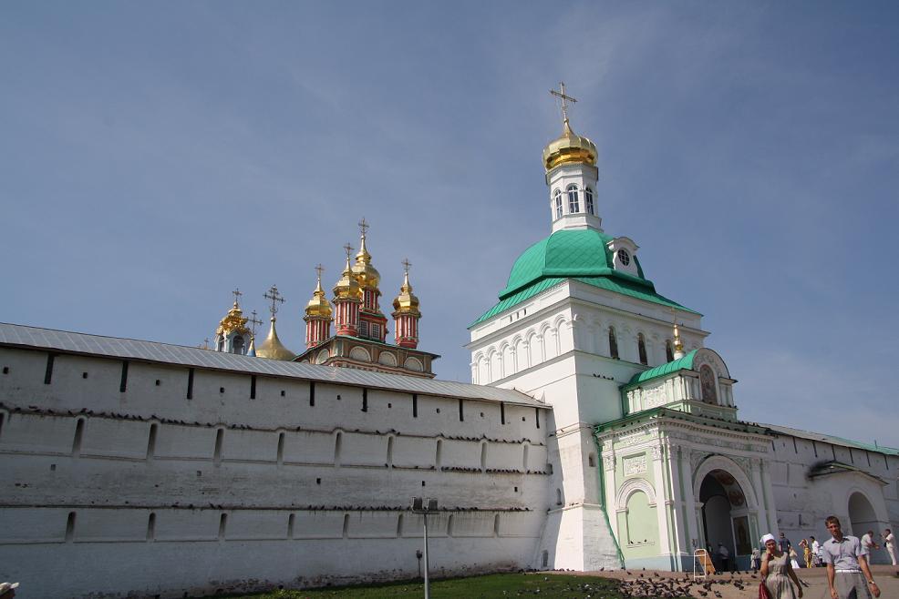 Крепостные стены, Сергиев Посад