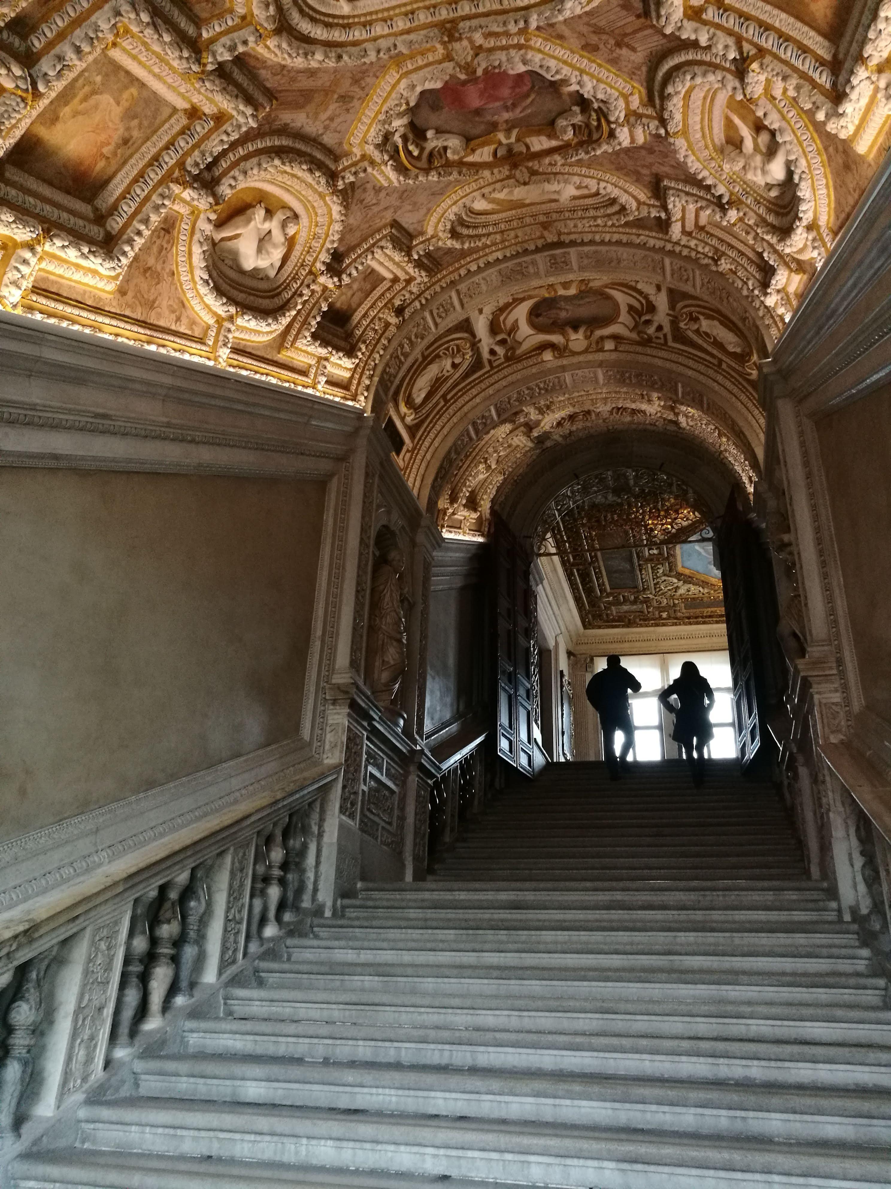 Лестница во Дворце дожей в Венеции