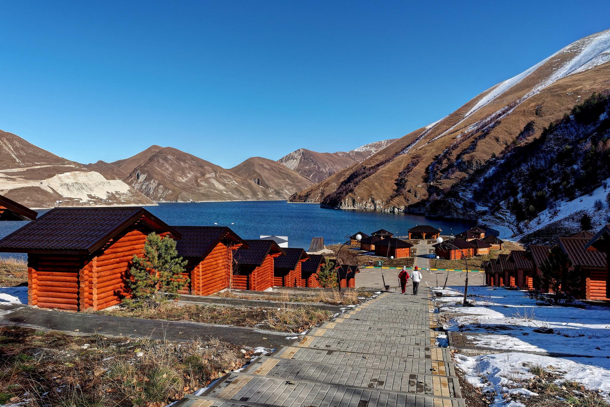 Озеро Кезенойам, зимний отдых
