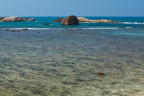 Вид моря, Шри-Ланка
