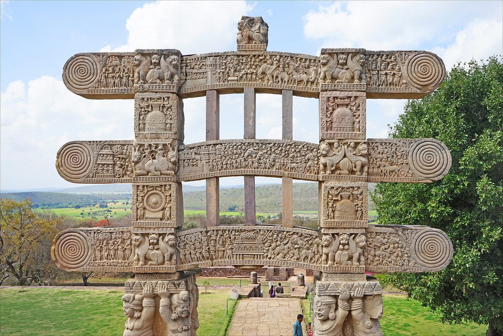 Ворота, Ступа в Санчи