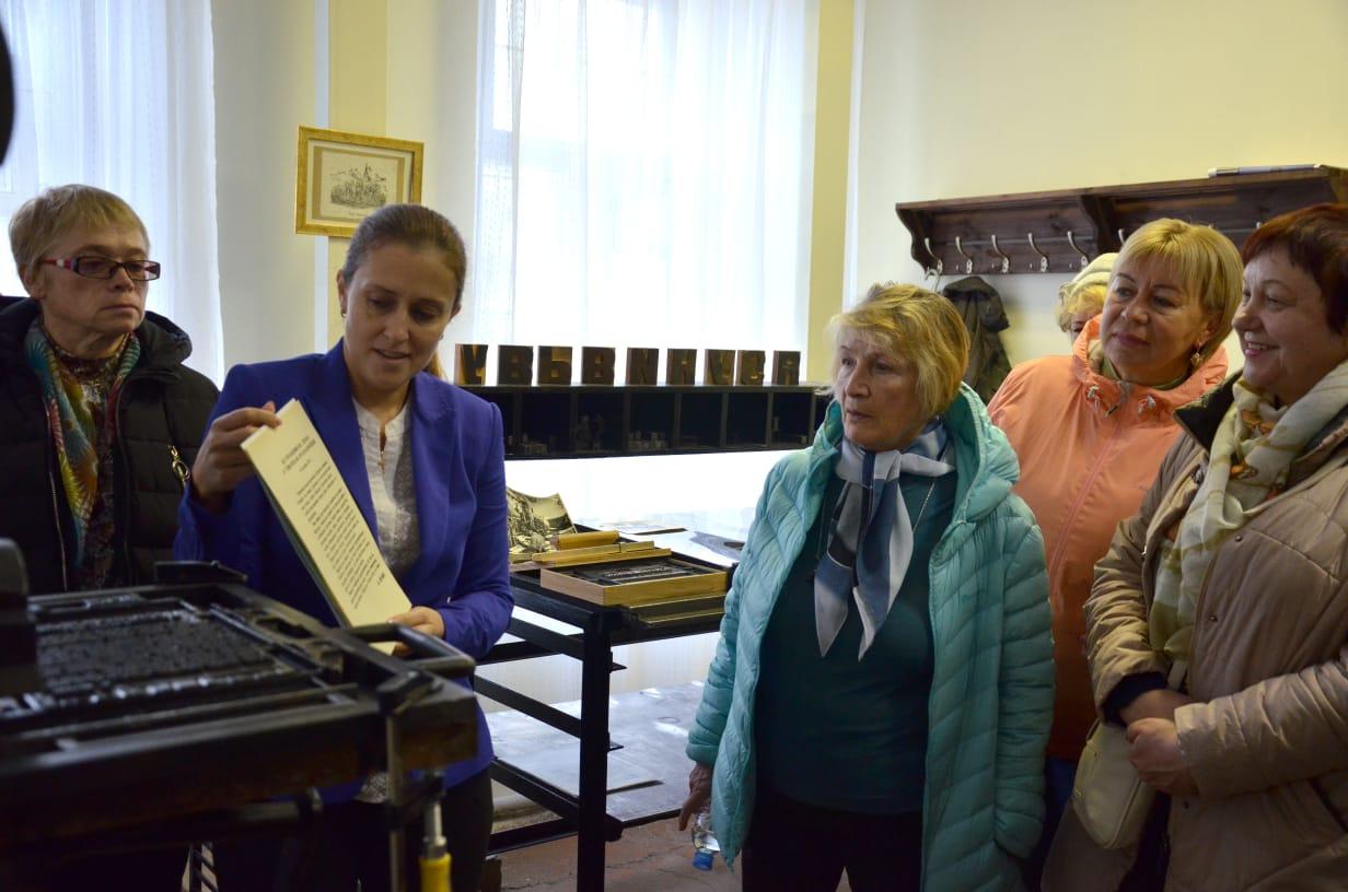 В залах Музея печати в Серпухове