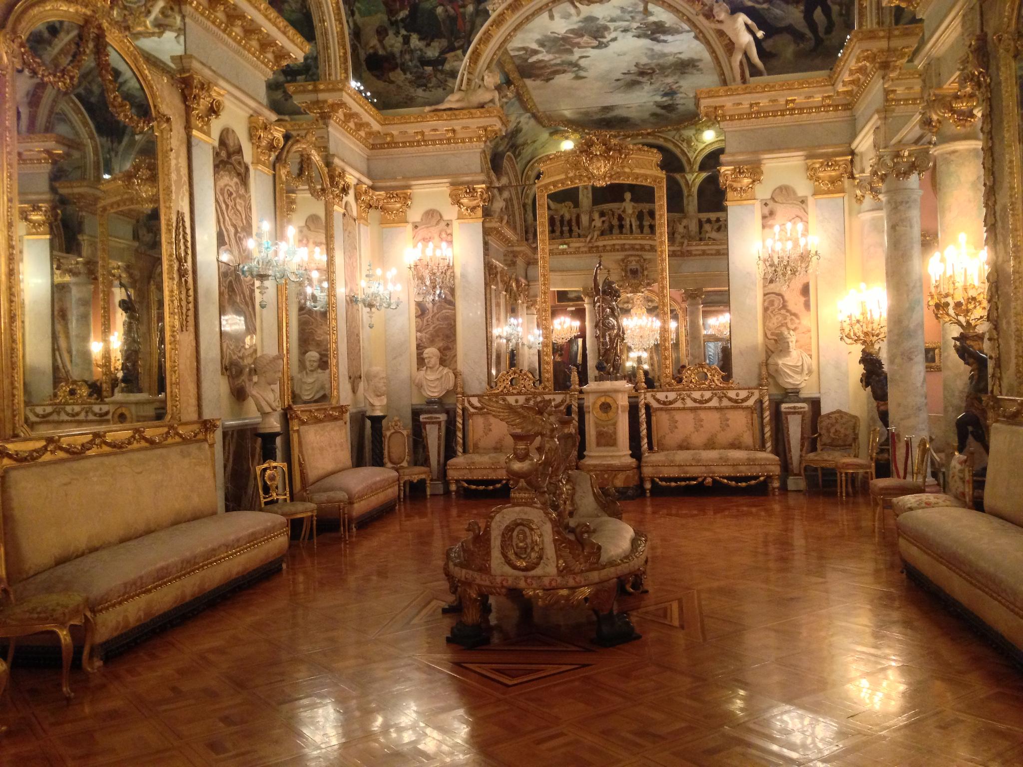 Музей Серральбо в Мадриде, интерьер