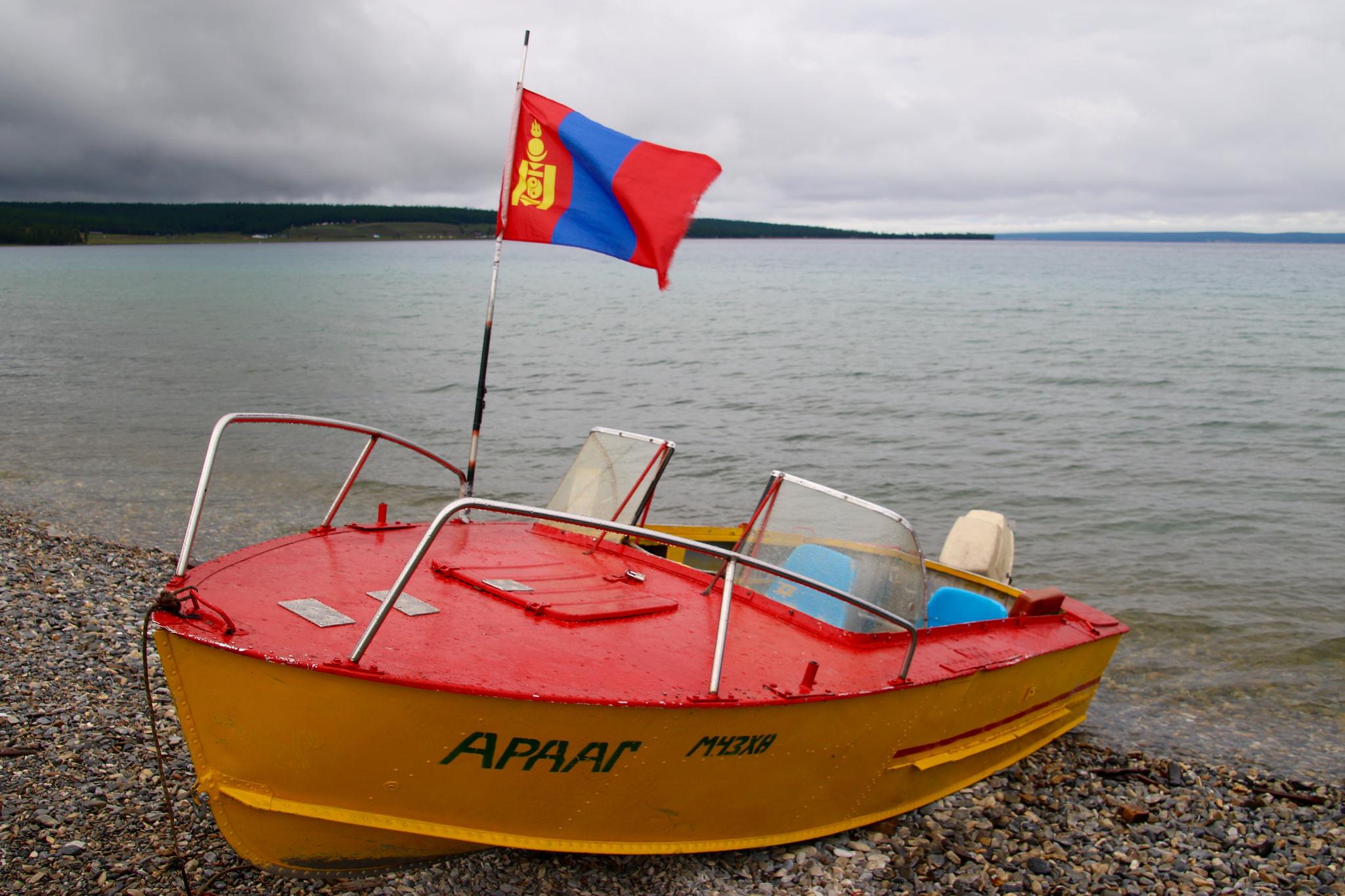 Озеро Хубсугул в Северной Монголии