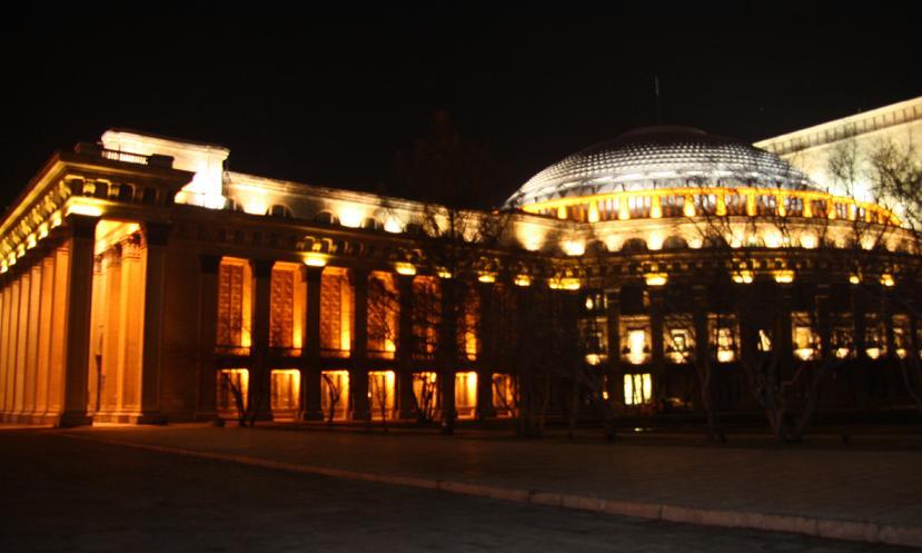 Оперный театр, Новосибирск