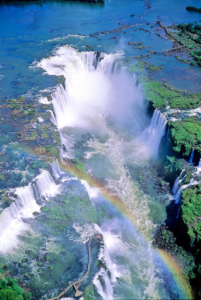 Фото водопадов Игуасу