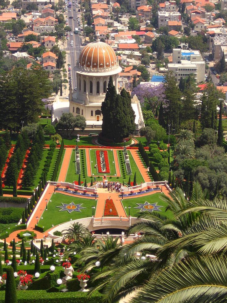 Всемирный центр бахаи, сад на горе Кармель