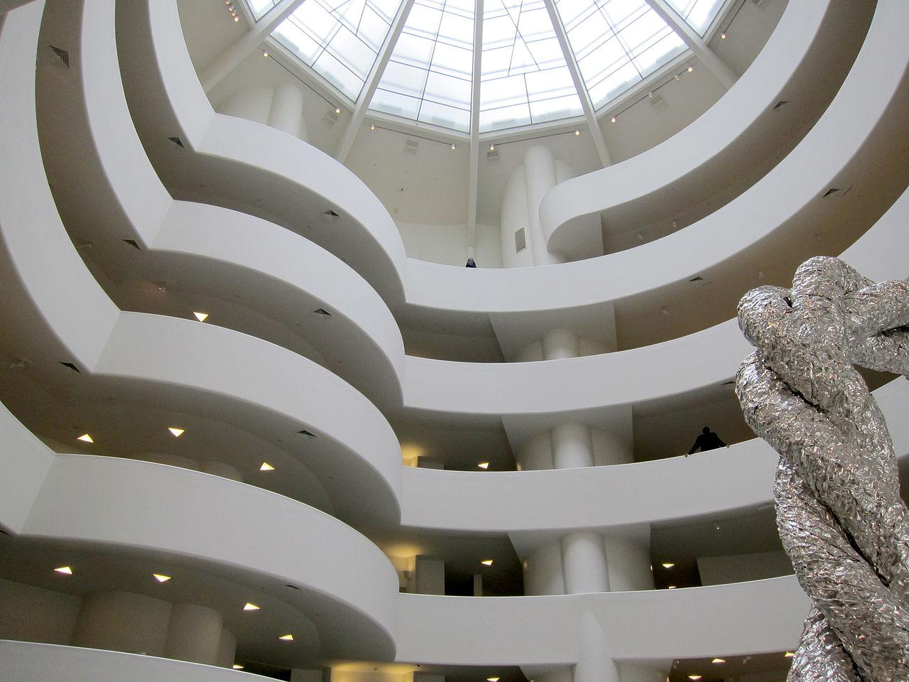 Музей Гуггенхайма, главный холл