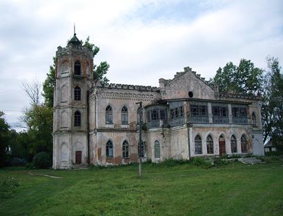 Авчурино - готическая усадьба Полторацких в Калужской области
