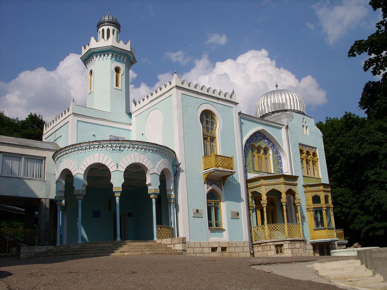 Дворец эмира бухарского в Железноводске, фасад