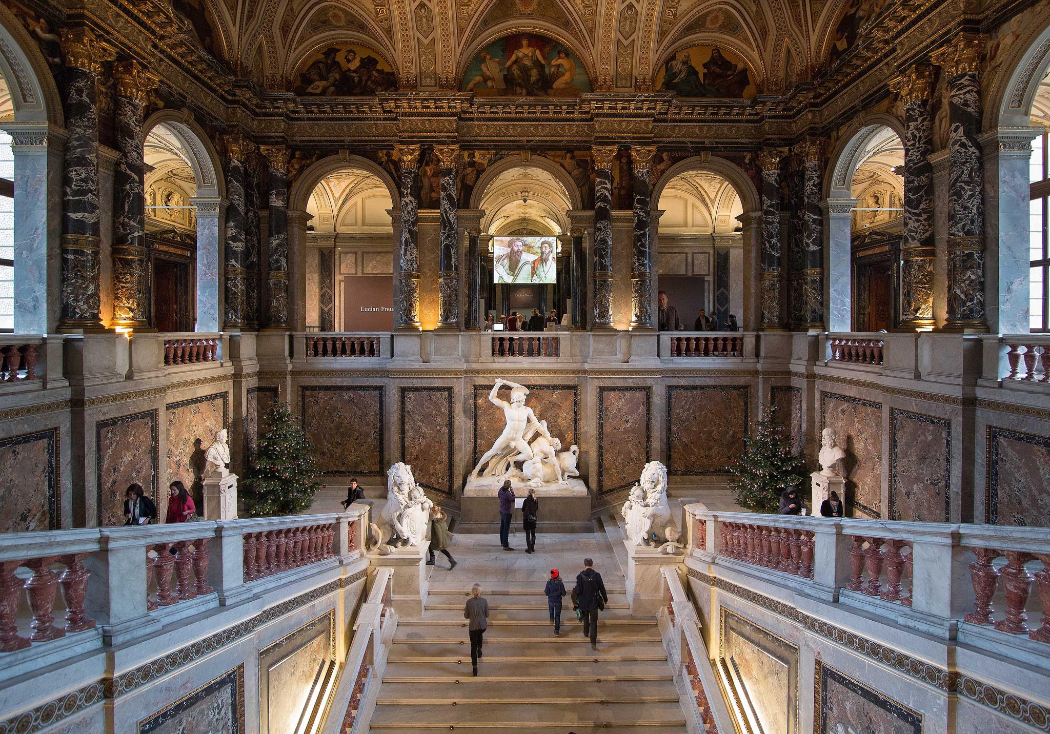 Картинки по запросу Музей истории искусств в Вене (Вена)