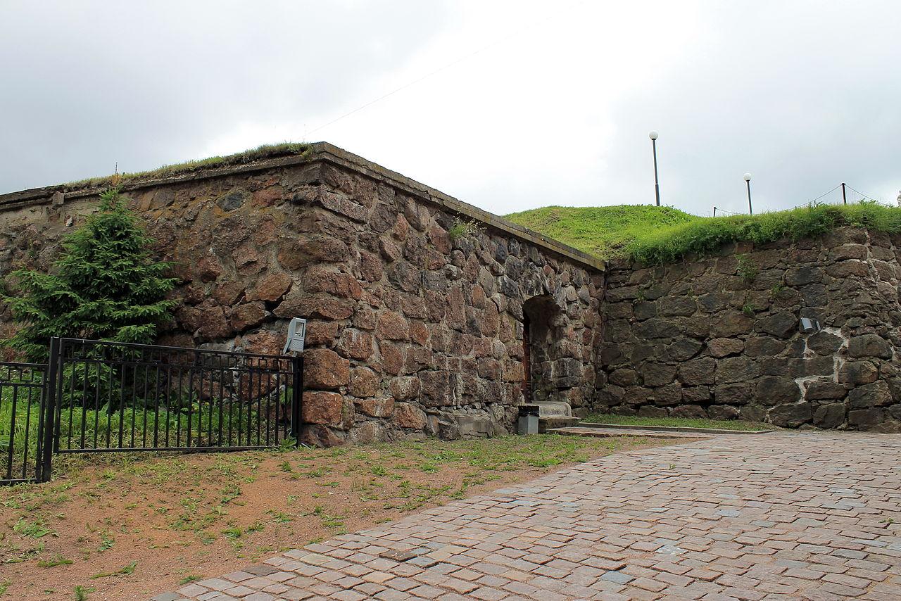 Панцерлакс, средневековый бастион в Выборге