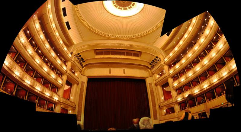 Сцена Венской оперы