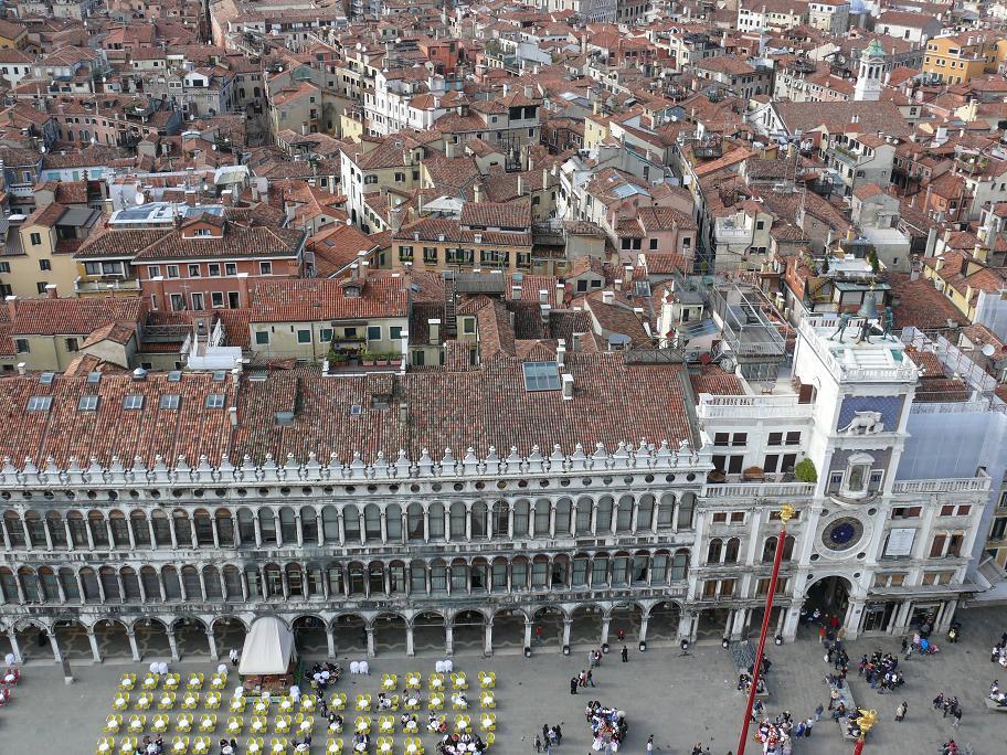 Вид на площадь Святого Марка, Венеция, Италия