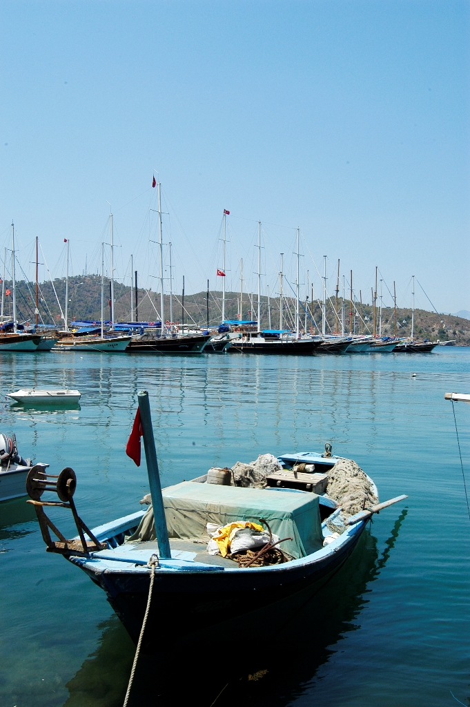 Лодки в Олюденизе