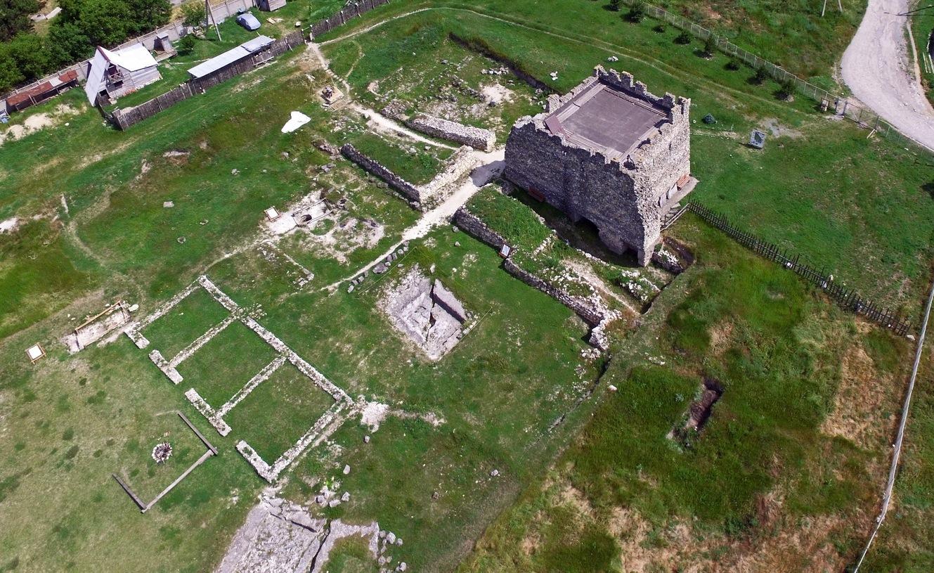 Неаполь Скифский, вид с воздуха