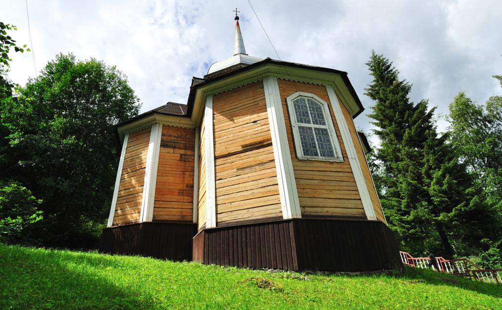 Церковь на курорте Марциальные Воды