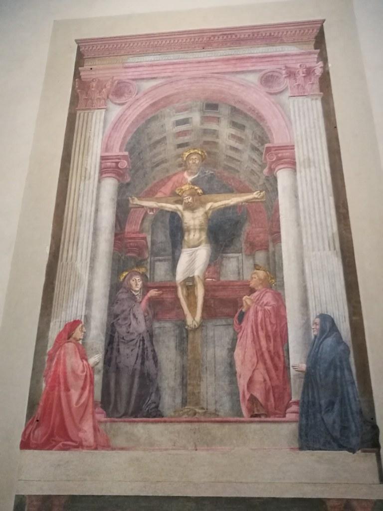 Икона Распятие Христа в соборе Флоренции, Италия