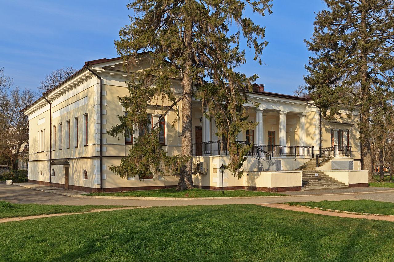 Особняк Воронцова в Ботаническом саду в Симферополе