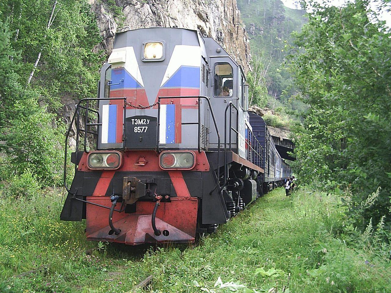 Поезд «Кругобайкальский экспресс»
