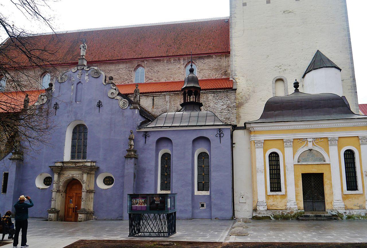 Церковь святого Николая, некрополь
