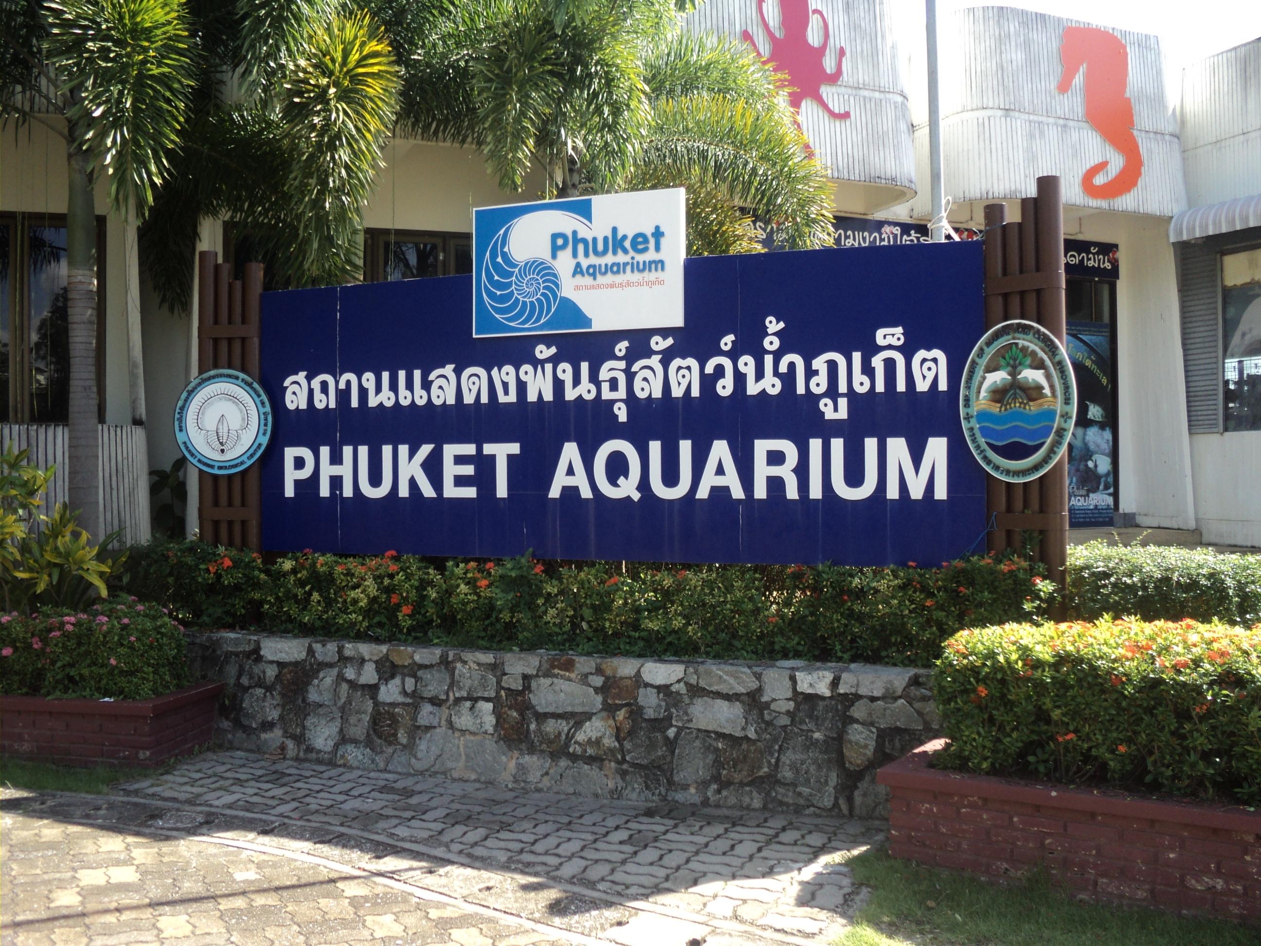 Аквариум Пхукета, Таиланд