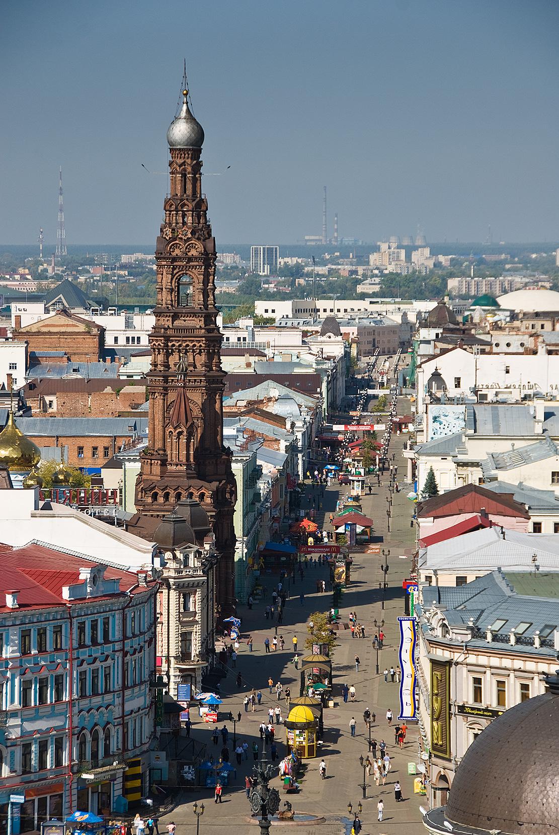 Богоявленский собор Казани, улица Баумана