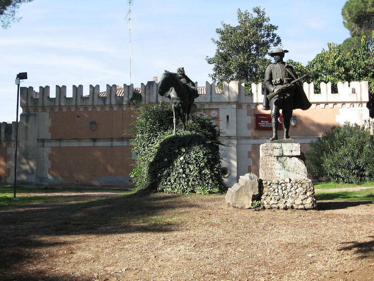 Вилла Боргезе, дом-музей Пьетро Каноника