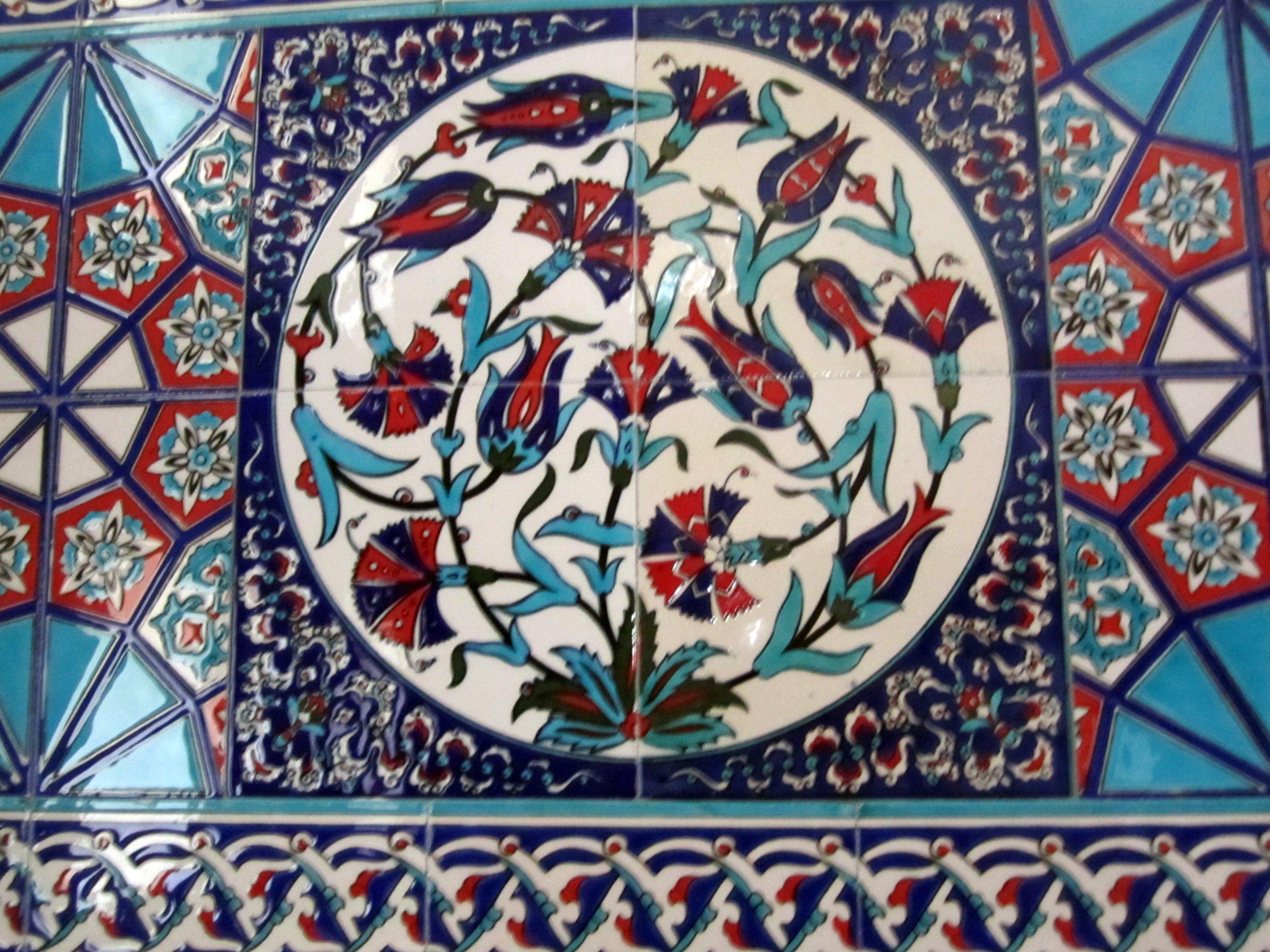 Мечеть Баня-Баши, кладка