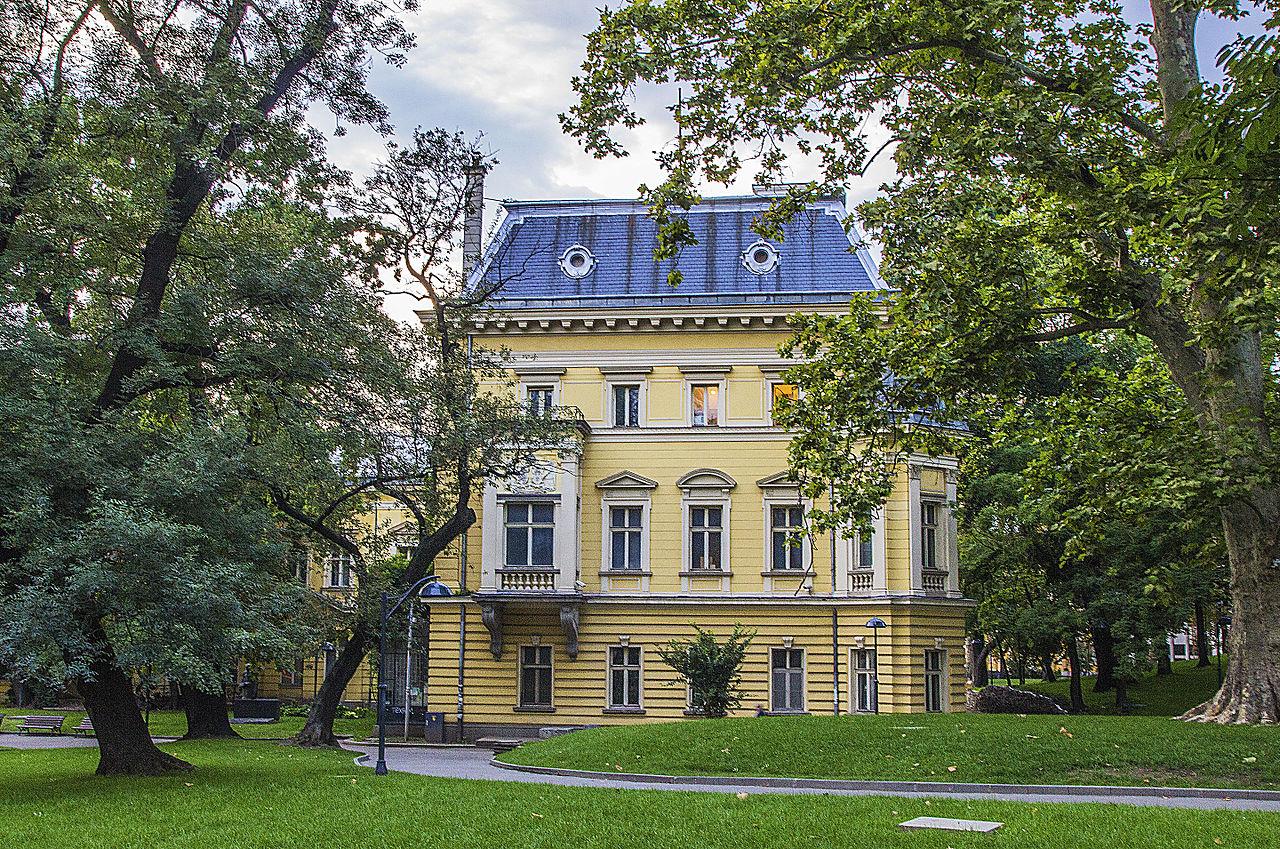 Национальная художественная галерея Болгарии, внутренний фасад