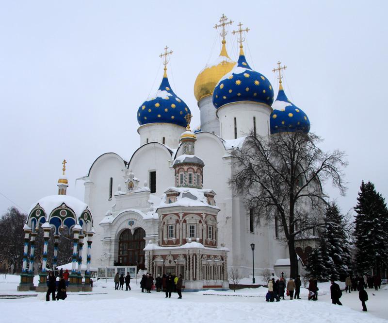 Успенский собор Троице-Сергиевой лавры, Сергиев Посад, Россия