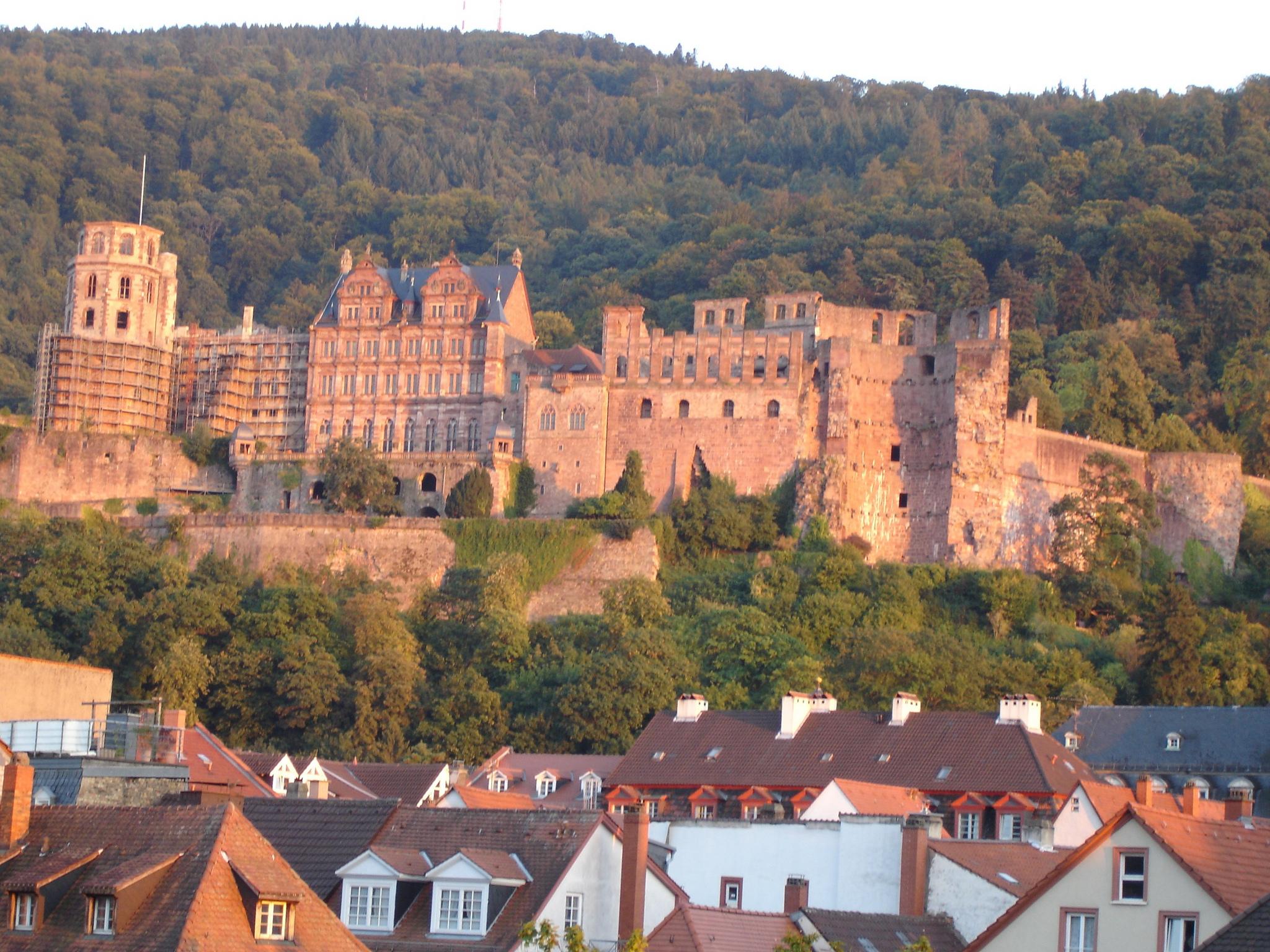 Вид на Гейдельбергский замок