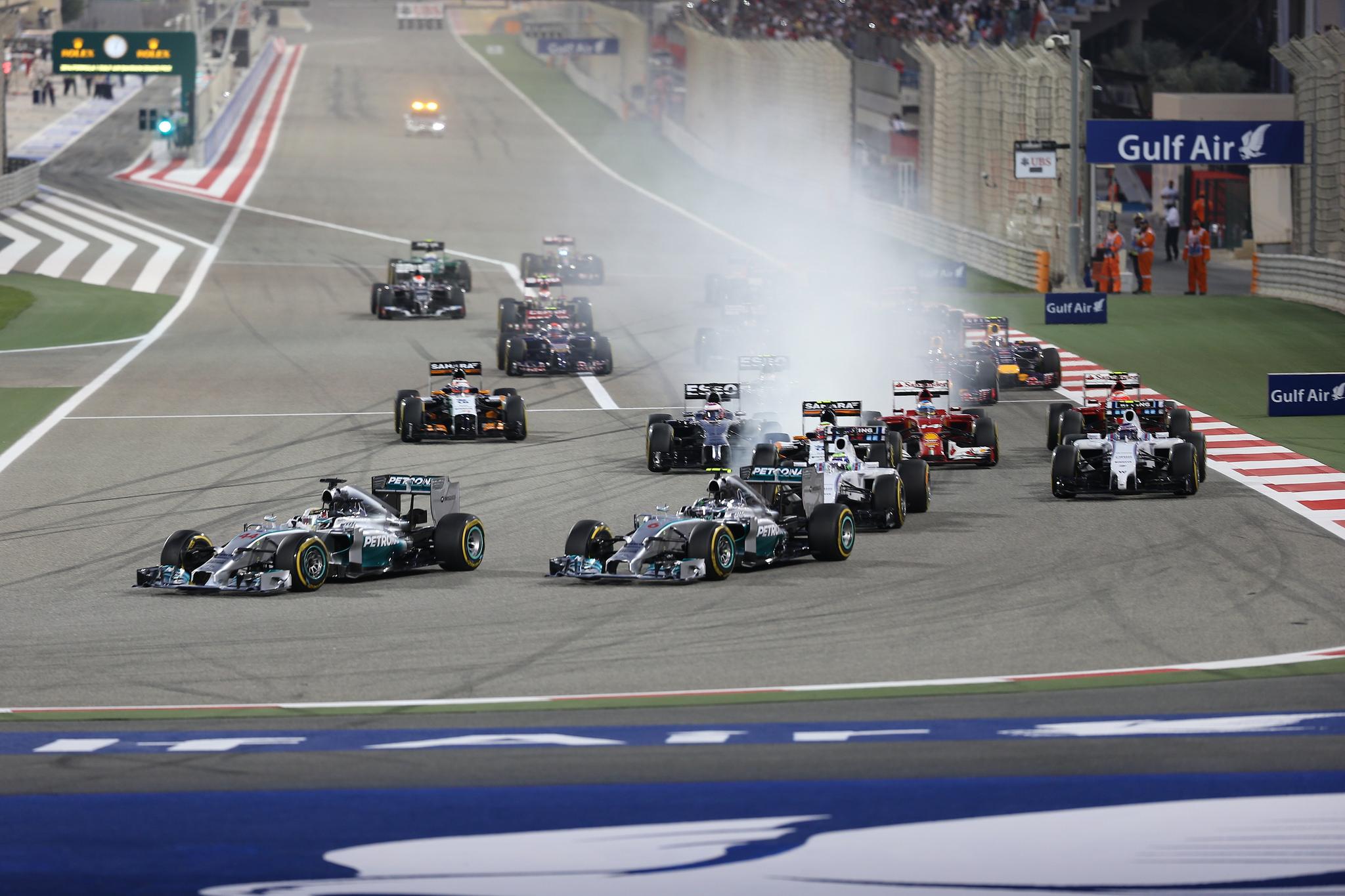 Гонщики Бахрейна