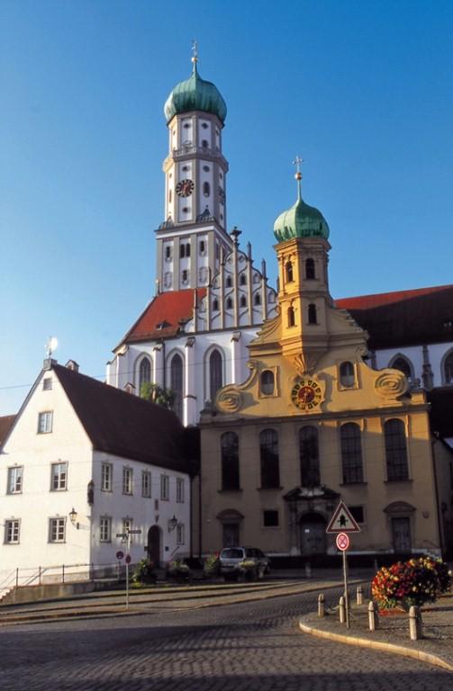 Готическая церковь Святых Ульриха и Афры, Аугсбург.jpg
