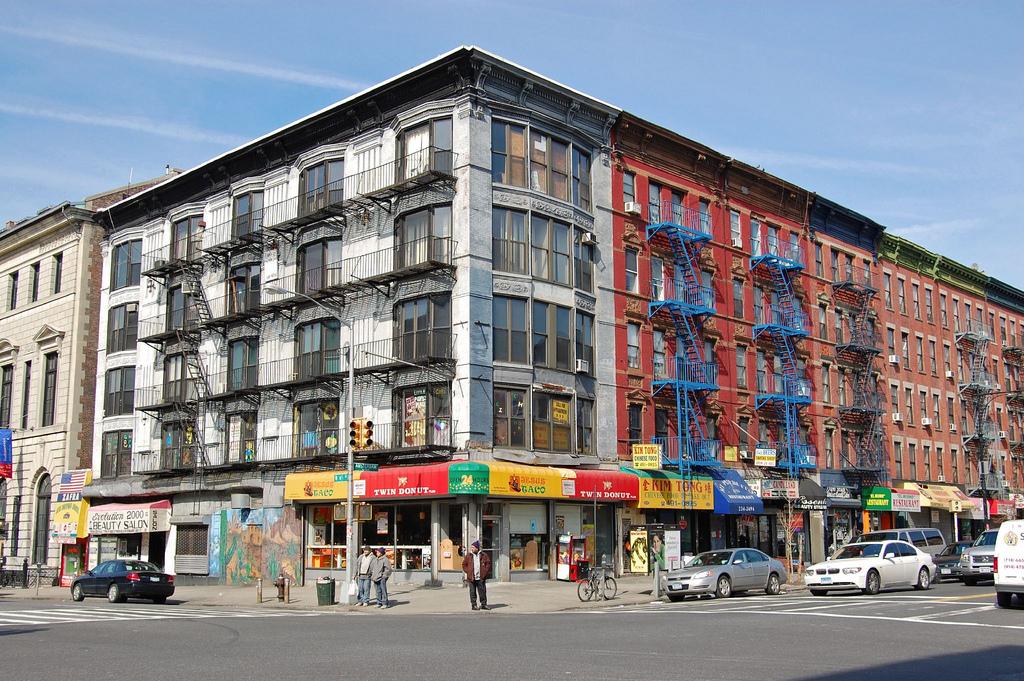 Дом в Гарлеме, Нью-Йорк