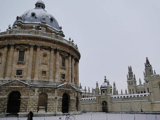 Камера Рэдклифф в Оксфорде