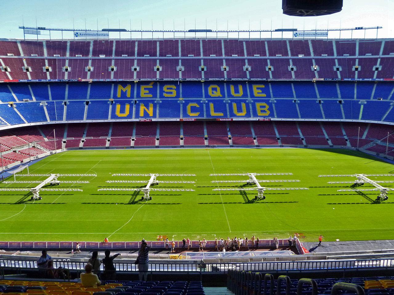 Стадион Барселоны, слоган Больше, чем клуб